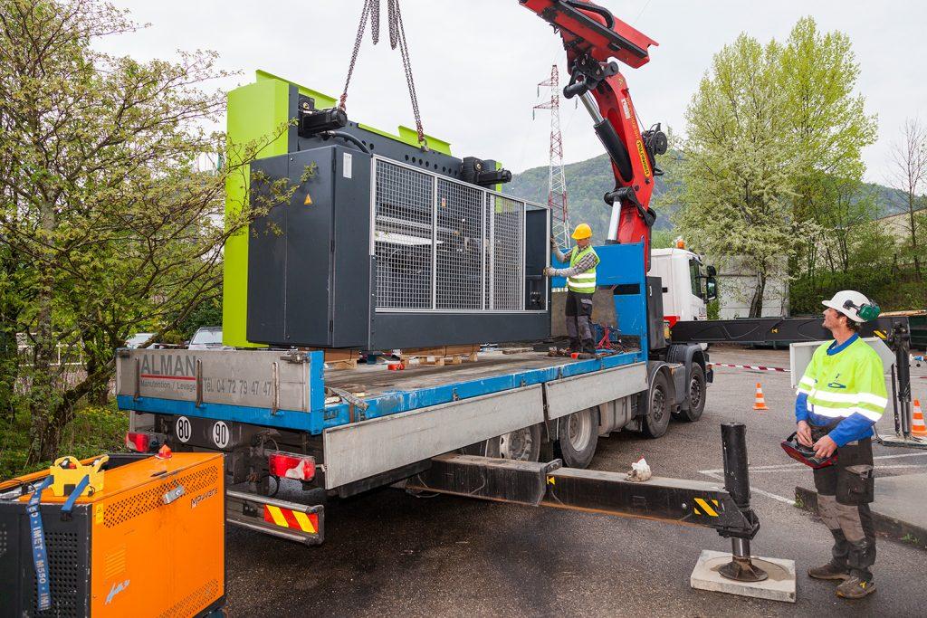 livraison nouvelle presse électrique chez ARC Industries