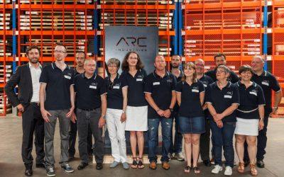 ARC SAS devient ARC Industries : toute l'équipe accueille 120 invités!