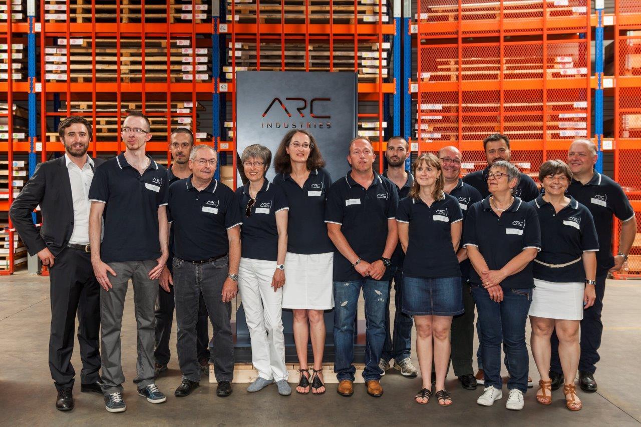inauguration nouveau nom ARC Industries