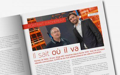 Romain de Tellier et Jean-Pierre Argoud dans le magazine UDIMAG