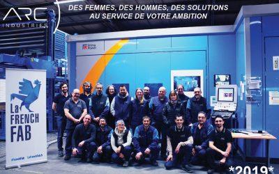 Arc Industries vous souhaite une belle année 2019 !