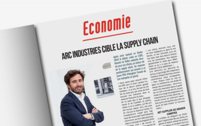 ARC Industries en couverture de l'Essor Isère : l'acteur clé de la supply chain grands comptes
